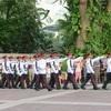 シンガポール街歩き#166(イスタナの衛兵交代式)
