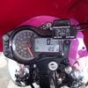 Daytona製電圧計装着