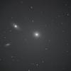 銀河三つ しし座 M105(NGC3379)NGC3384 他