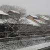 雪景色シリーズ(その1)「主計町」