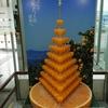 松山空港名物 みかんジュースタワー!搾りたてみかんジュースを飲もう!鯛めし&鯛ラーメン食べました。愛媛といえば、みきゃん!