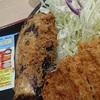 ロースかつ&茄子フライ定食