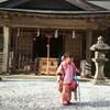 ■八丈島での七五三は優婆夷宝明神社で!厳かでこじんまりした祈祷をしていただきました。