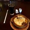 🚩外食日記(58)    宮崎ランチ   「キヘイカフェ」より、【カレードリア】【ミニデザート】‼️