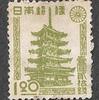 日本 法隆寺五重塔 1円20銭