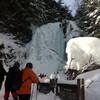 アイスクライミング 乗鞍善五郎の滝