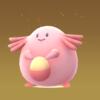 ポケモンGO 「ラッキー」初孵化