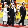 両陛下、ベトナムで国家主席主催の晩餐会に出席