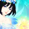 青を纏った妖精