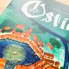 【ボードゲーム】オスティア(Ostia)|六角形の港を埋め尽くす我が大船団を見るが良い!交易で莫大な財を成し、オスティアで謳歌するこの世の春(願望)。
