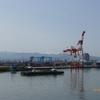 金沢港より白山