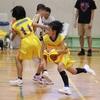 バスケ・ミニバス写真館74 一眼レフで撮影したバスケットボール試合の写真 連写