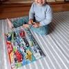 次男1歳パズルに挑戦