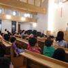 創立記念の礼拝 会食
