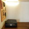ちっちゃいDIY4 プリンターの上にライトを設置したよ