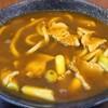 【うどん工房 諏訪@富士見市】コシのある麺ととろみのあるカレー汁が絶品!!ご飯入りのカレーうどん【諏訪カレーうどん】
