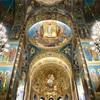 【ロシア旅行】サンクトペテルブルク:ド派手なモザイク画に圧倒される、血の上の救世主教会。