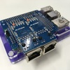 Raspberry PiにNICをSPI接続で2つ足すやつ(10Mbpsだけど)