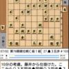 第78期順位戦C級1組(藤井七段vs堀口七段)