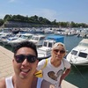 27. Zaljubio sam se u Zadar. (あなたに見惚れてた)