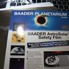 双眼鏡の太陽観測用フィルターを作ってみた