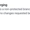 GitHubで特定のブランチへの直pushを防ぐ