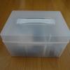 我が家の裁縫箱 ~無印のポリプロピレンキャリーケース・救急箱タイプに入れ替えました~