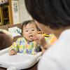 息子くん10ヶ月、外出時の食事に悩む