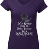 Beauty In a world full of basic fairies be a maleficent shirt