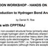 AmberのCPPTRAJで水素結合を調べる方法