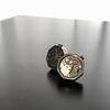カフリンクスのススメ!袖口から機械式時計のムーブメント!?