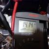 ジェベル200 充電電圧チェック