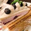 新宿のカフェアマティ再び♪ブルーベリーのタルトが美味しい〜(≧∀≦)