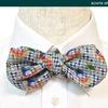 蝶ネクタイの型紙,デザイン,トラディエイティブ[5]ラウンド・エンド-----蝶ネクタイ 起源 歴史 19世紀