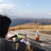 【絶景散歩とデカ盛りランチ】熊本県阿蘇市『大観峰』の絶景を眺めながらお弁当を美味しくいただきました!!