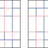 折りたたみにくい折り紙パターン