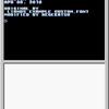 標準コンソール16色フォント変更+パレット番号変更サンプル。
