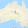 毎日更新 1983年 バックトゥザ 昭和58年8月8日 オーストラリア一周 バイク旅 45日目 23歳 大岩別離 竹馬之友  ヤマハXS250  ワーキングホリデー ワーホリ  タイムスリップブログ シンクロ 終活