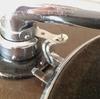 蓄音機 と L金具
