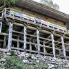 """""""美濃清水""""関市にある高沢観音日龍峯寺。"""