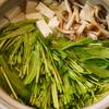 鍋のパターン:甘鯛と壬生菜のちり鍋