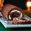 カリカリのキャラメルがおいしい、チョコケーキ