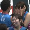 チャレンジ行き決定戦、号泣する溝口@姫路に寄り添う選手あり