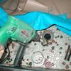 浴室排水改良1(床タイルの一部補修絡み例02)