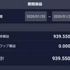 FX ドル円 収益結果1月20日~1月25日
