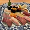 ぶらり東横線の旅、みなとみらい駅のクイーンズスクエアで回らない寿司を食べる!