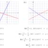 一次関数のグラフを見て、傾きと切片を10秒以内に求めよう!