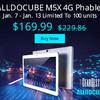 10.1インチAndroidタブレット「ALLDOCUBE M5X」が週間セールの1月7日~1月14日に特価19,209円!ドローンも安い!