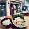 関西の横浜家系ラーメン 京都・二条の山下醤造の味玉ラーメン(初訪問)