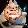 ライトカフェさん(名古屋市中村区)に行って3Dラテアートに感想しました。